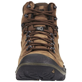 Keen Galleo Mid WP Shoes Men Cognac/Dark Chocolate